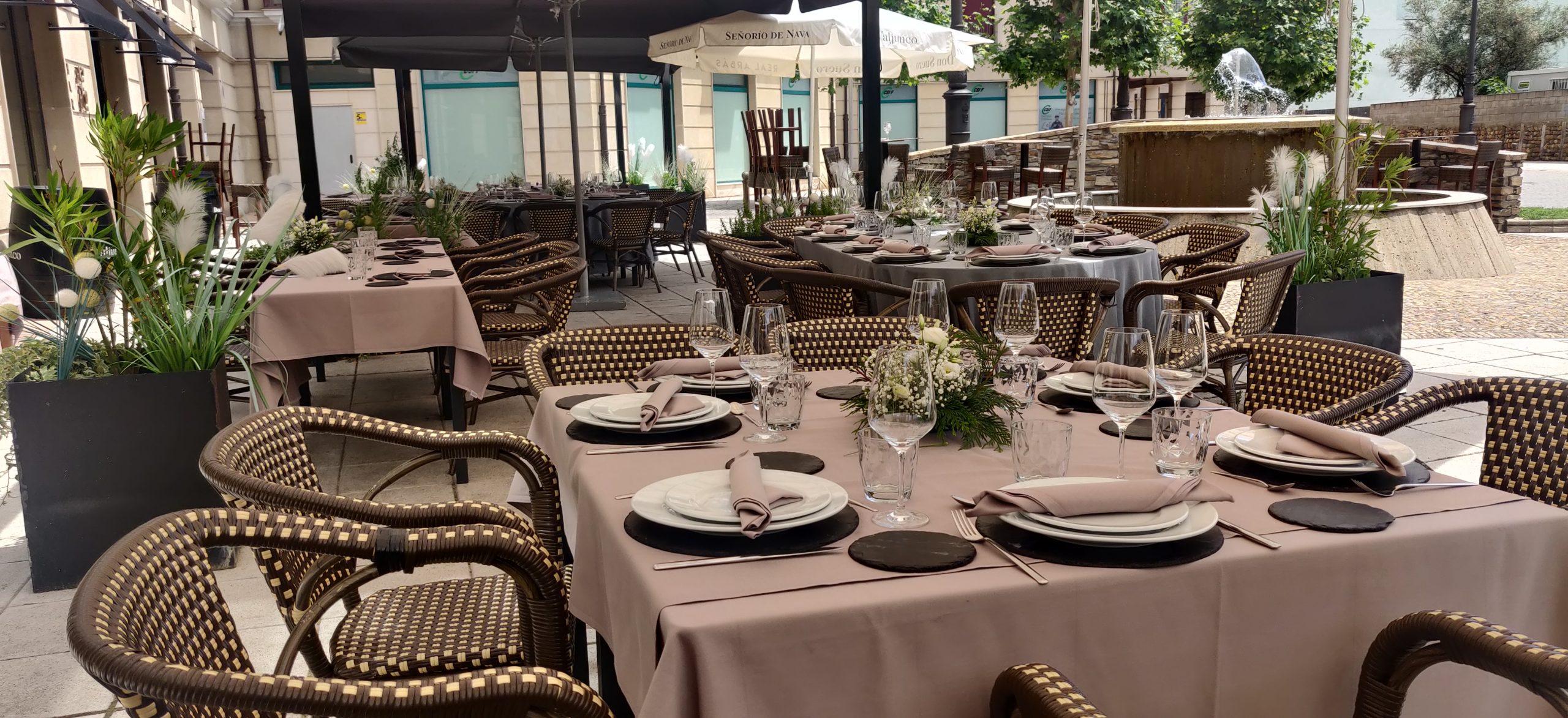 Terraza Restaurante León